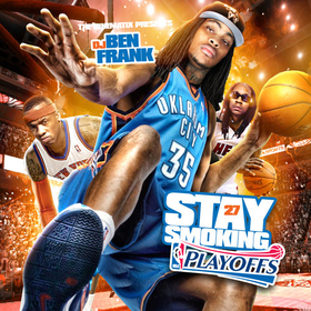 Stay Smoking 27 DJ Ben Frank front cover