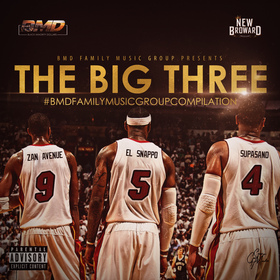 BMD FAMILY PRESENTS THE BIG THREE Black Minority Dollars front cover