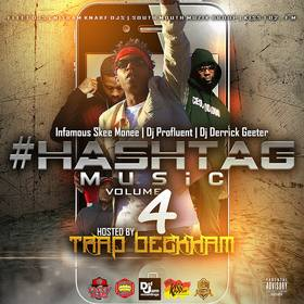 #Hashtag Music Vol.4 Hosted By (Trap Beckham) DJ Profluent front cover
