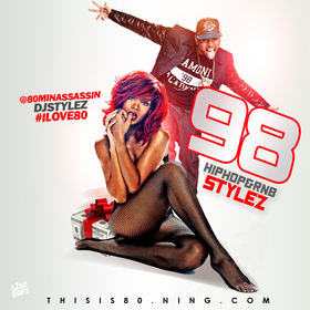 Hiphop & Rnb Stylez Vol 98 Various Artists front cover