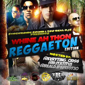 Whine Ah Thon:ReggaeTon Edition DJ Evryting Criss front cover