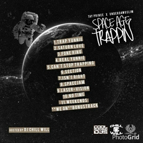 Space Age Trappin CHILL iGRIND WILL front cover