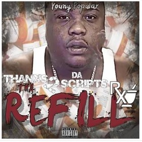 Thanxs 2 Da Scripts: Tha Refill Young Popular front cover