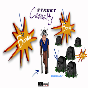 Street Casualty (EP) SIR'SHAHLY front cover