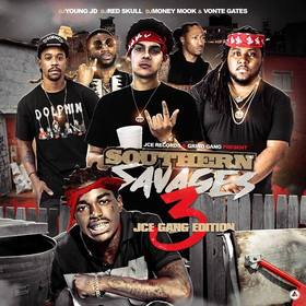 Southern Savages 3 JCE Gang front cover