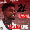 Savage King DJ Tony Tone front cover