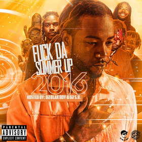 Fuck Da Summer Up 2016 DJ S.R. front cover