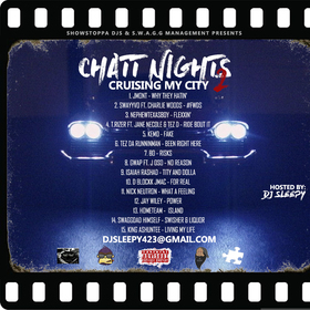 ChattNights II : Crusing My City SWAGGMGMT front cover
