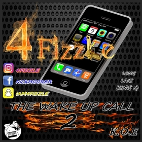 The Wake Up Call 2 DIRTY30RADIO front cover