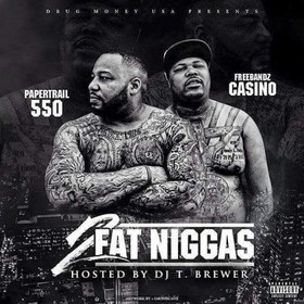 2 Fat Niggas Casino front cover