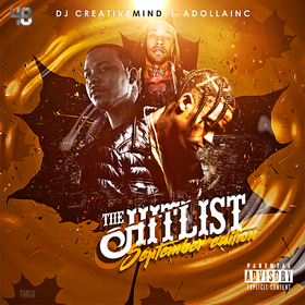The Hit List (September Edition) Dj Creative Mind front cover
