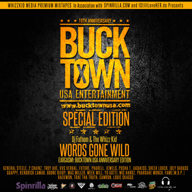 Eargasm! Bucktown USA Special Edition dawhizzkid front cover