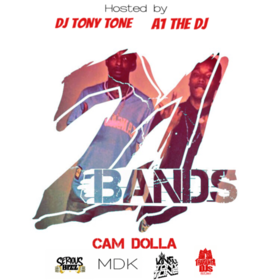 21 Bands Cam Dolla front cover
