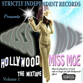 "STRICKLY INDEPENDENT RECORDS PRESENTS ""MISS MOE"" THE MIXTAPE VOLUME 1 Various Artists front cover"