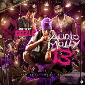 Audio Molly 13 (Hosted By Cizzle Money Addict) 3rdy Baby front cover