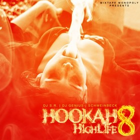 Hookah Highlife 8 DJ S.R. front cover