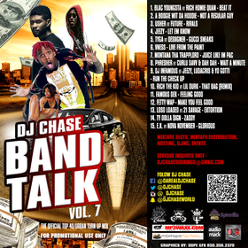 DJ Chase Band Talk Vol. 7 DJ Chase front cover