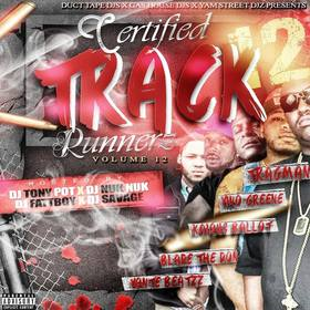 Certified Track Runnerz 12 Dj Tony Pot front cover
