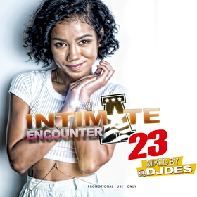 Intimate Encounter 23 DJ DES front cover