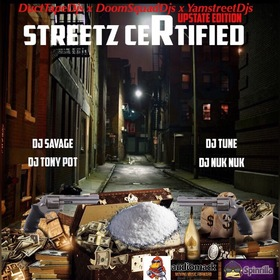 Street Certified Upstate Edition DJSavageSC front cover