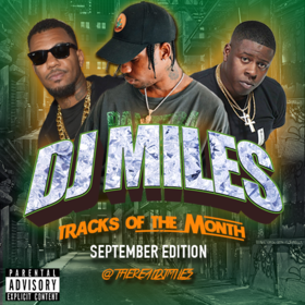 Tracks of the Month (September Edition) (2016) DJ Miles front cover