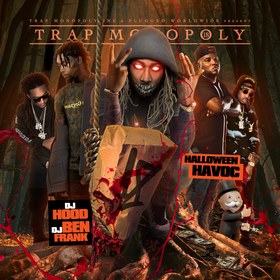 Trap Monopoly 18 (Halloween Havoc) DJ Hood front cover