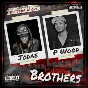 Blood Brothers Jodae x P Wood  front cover