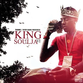 King Soulja 6 Soulja Boy front cover