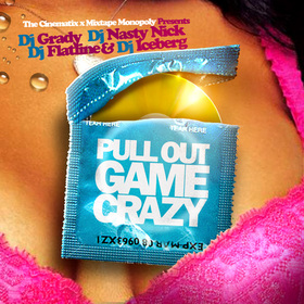 Pull Out Game Crazy DJ Grady front cover