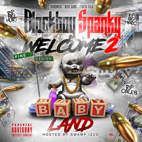 Welcome 2 Babyland Blockboy Spanky front cover