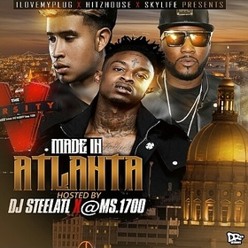 Made in Atlanta DJ Steel ATL front cover