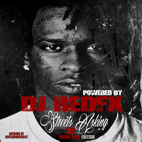 Streets Asking Vol. 2 (Young Thug Edition) Dj RedFx front cover
