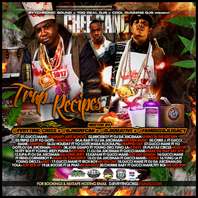 Chef Gang:Trap Recipes DJ Evryting Criss front cover