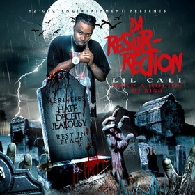 Da Resurection Lil Cali front cover