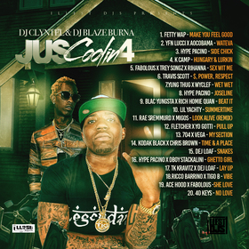 Jus Coolin Volume 4 Illest DJs front cover