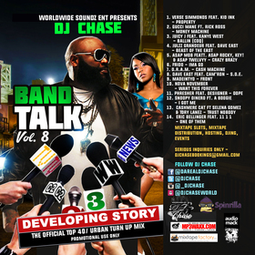 Band Talk Vol. 8 DJ Chase front cover