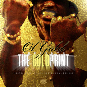 OL GOLD - THE GOLDPRINT DJ DERRICK GEETER front cover