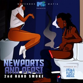 "Newports & Pepsi ""2nd Hand Smoke"" MD front cover"