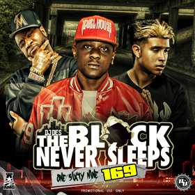 The Block Never Sleeps 169 DJ DES front cover