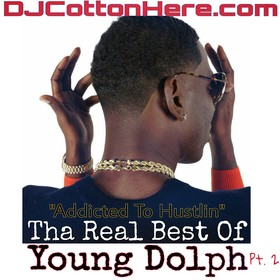 Tha Real Best Of Young Dolph Pt. 2 DJ Cotton Here front cover