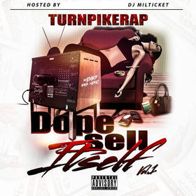 Dope Sell Itself Vol.1 TurnpikeRap front cover