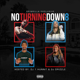 No Turning Down 8 DJ Drizzle front cover