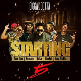 The Starting Five Bigga Rankin front cover
