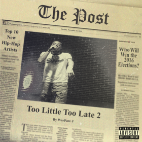 Too Little Too Late 2 Warfare J front cover