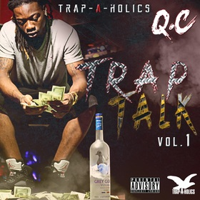 Trap Talk Vol. 1 Q.C front cover