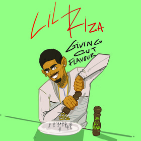 Giving Out Flavor Lil Riza front cover