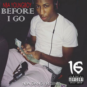 Before I Go NBA YoungBoy front cover