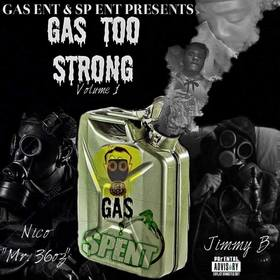 Gas Too Strong Vol. 1 Nico Hefner front cover