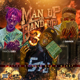 Man Up or Band Up Vol. 3 Elly Elz front cover