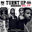Turnt Up Vol. 34 DJ Tee Cee front cover